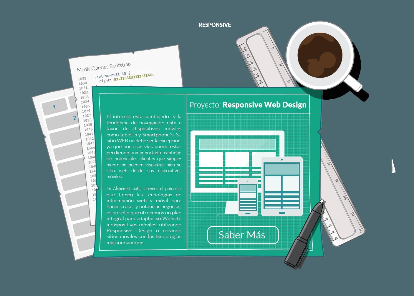 Alchemistsoft - Responsive Web Design